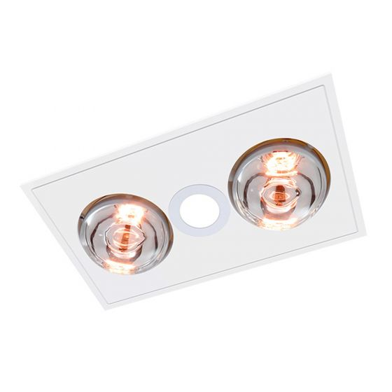 View Photo: Ventair Myka 2 LED Bathroom 3-in-1 Heat Light Exhaust Fan
