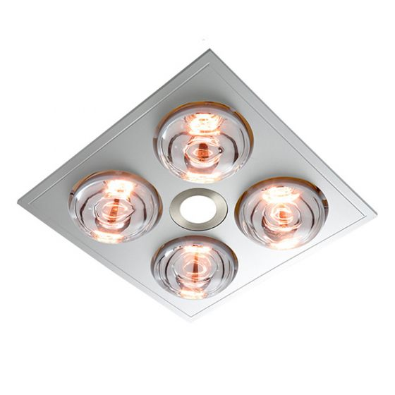 View Photo: Ventair Myka 4 LED Bathroom 3-in-1 Heat Light Exhaust Fan