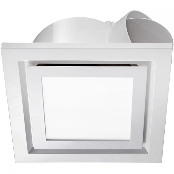 View Photo: Ventair Pro-V Airbus 200mm Commercial Grade Square Exhaust Fan & LED Light