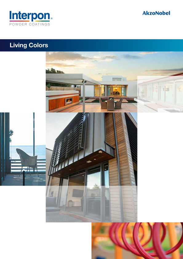 View Brochure: Colour chart for security doors and screens