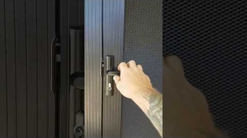 Watch Video: Privacy security doors perth