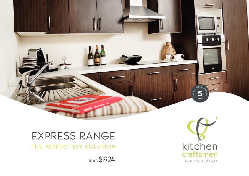 Browse Brochure: Kitchen Craftsmen Express Range