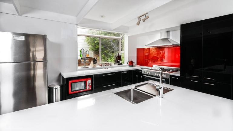View Photo: Red Kitchen