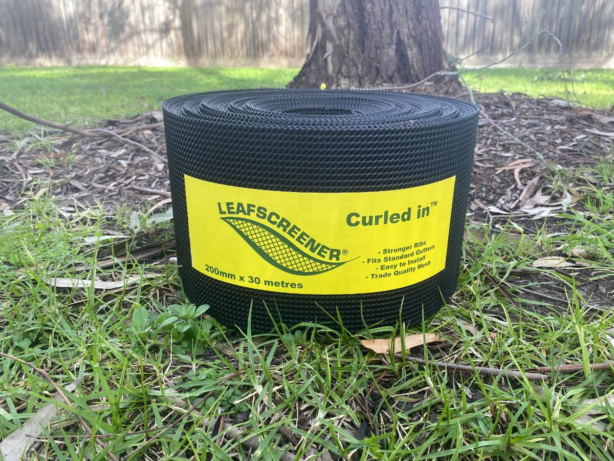 View Photo: Black coloured Curled In™ Gutter Guard