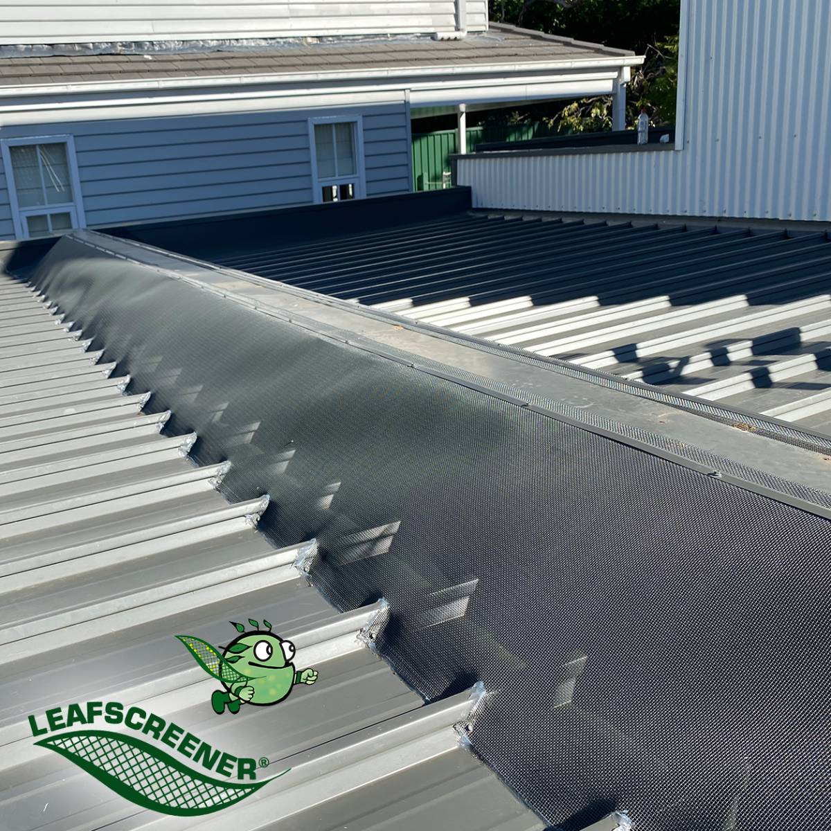 View Photo: Box Gutter Guard with LEAFSCREENER®