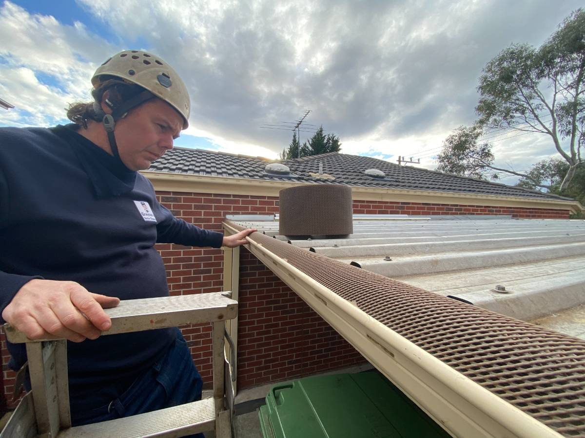 View Photo: Professional install of Curled In™ Gutter Guard