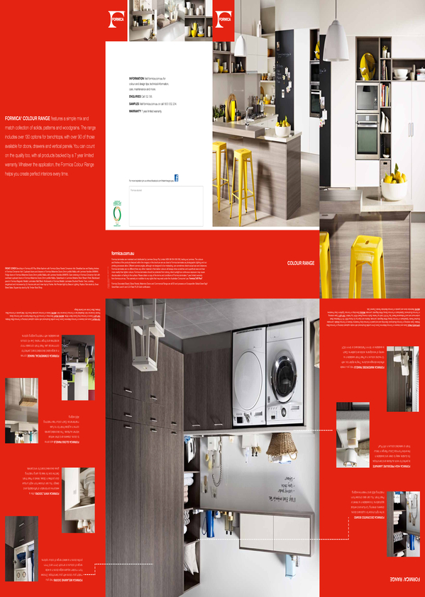 Browse Brochure: Formica Colour Range