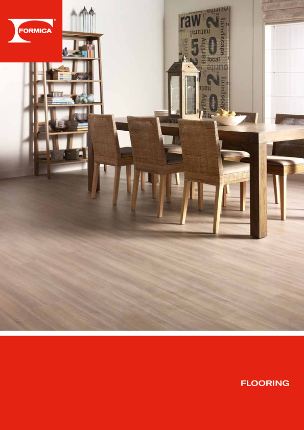 Browse Brochure: Formica Flooring
