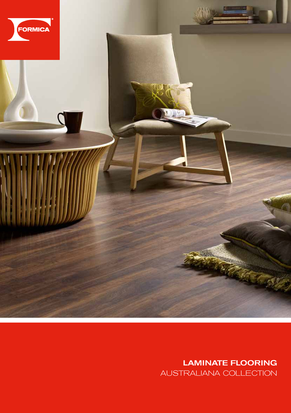 Browse Brochure: Formica Flooring Australiana Collection
