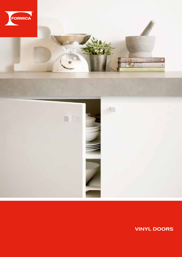 Browse Brochure: Formica Vinyl Doors