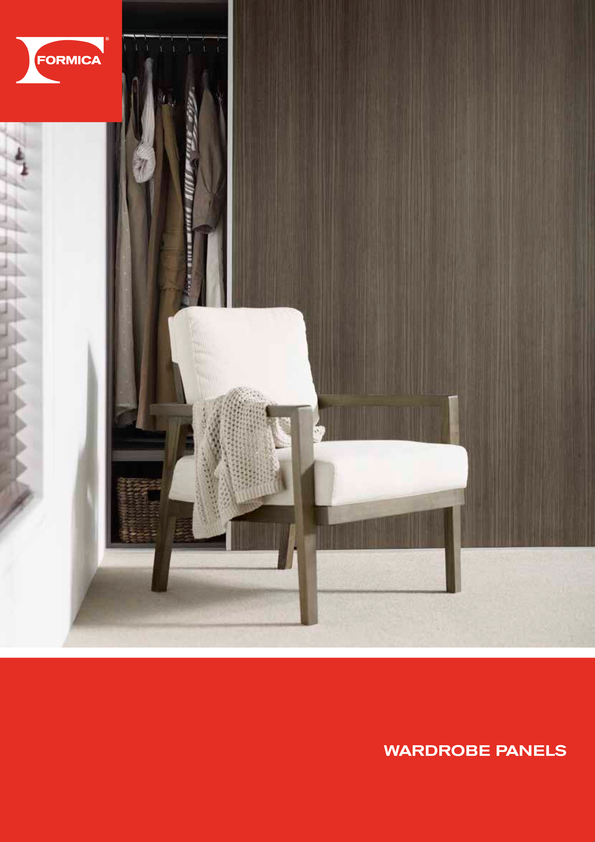 Browse Brochure: Formica Wardrobe Panels