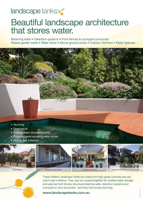 View Brochure: Landscape Tanks - Brochure