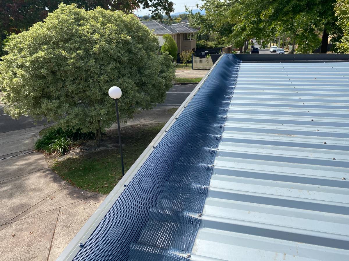View Photo: Leafbusters options for various gutters including flat roofs