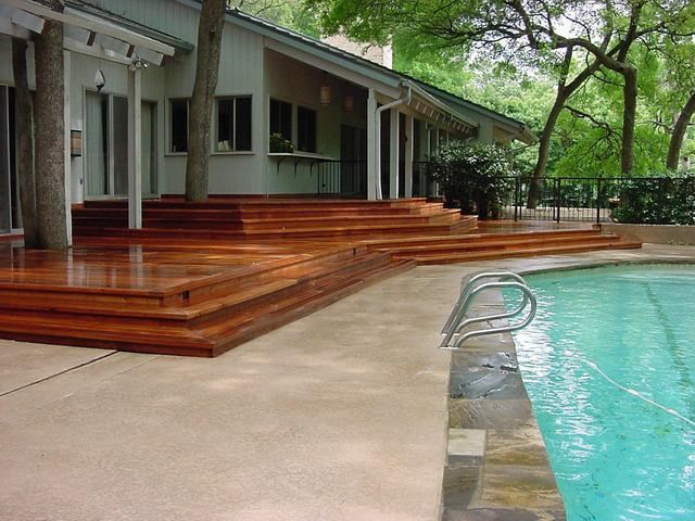 View Photo: Beautiful Merbu Terraced deck to Swimming Pool Deck.