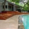 Beautiful Merbu Terraced deck to Swimming Pool Deck.