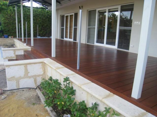 View Photo: New Merbu facade  sand stone paving