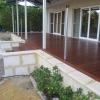 New Merbu facade  sand stone paving