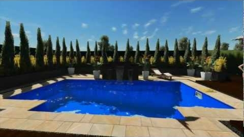 Watch Video : 3D Swimming Pool Demo of Elegance from Leisure Pools