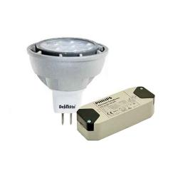 View Photo: Deluxlite LED MR16 7W and Philips Electronic Transformer Kit