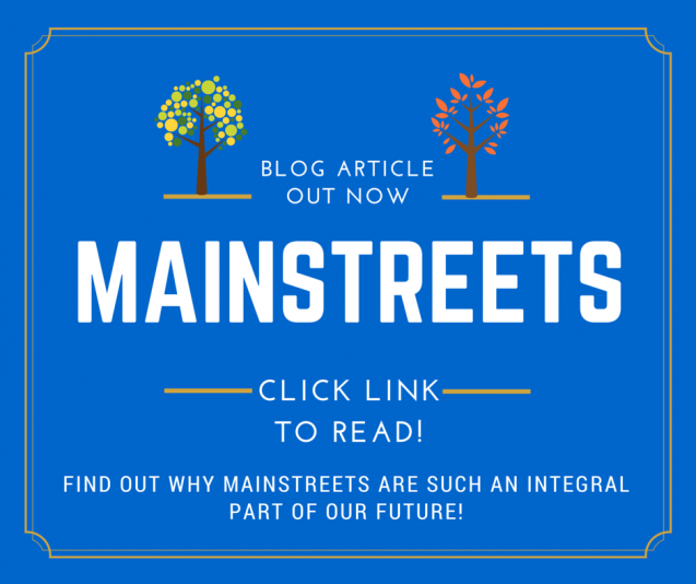 Read Article: WHY MAIN STREETS ARE A BIG PART OF OUR FUTURE