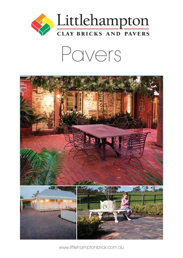 Browse Brochure: Paver Brochure