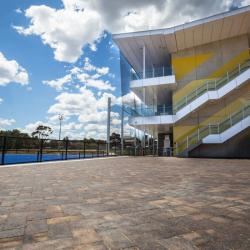 View Photo: Mahogany Pavers at Glenelg District Tennis Club