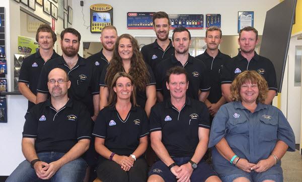 Lock, Stock & Farrell Staff - 2016