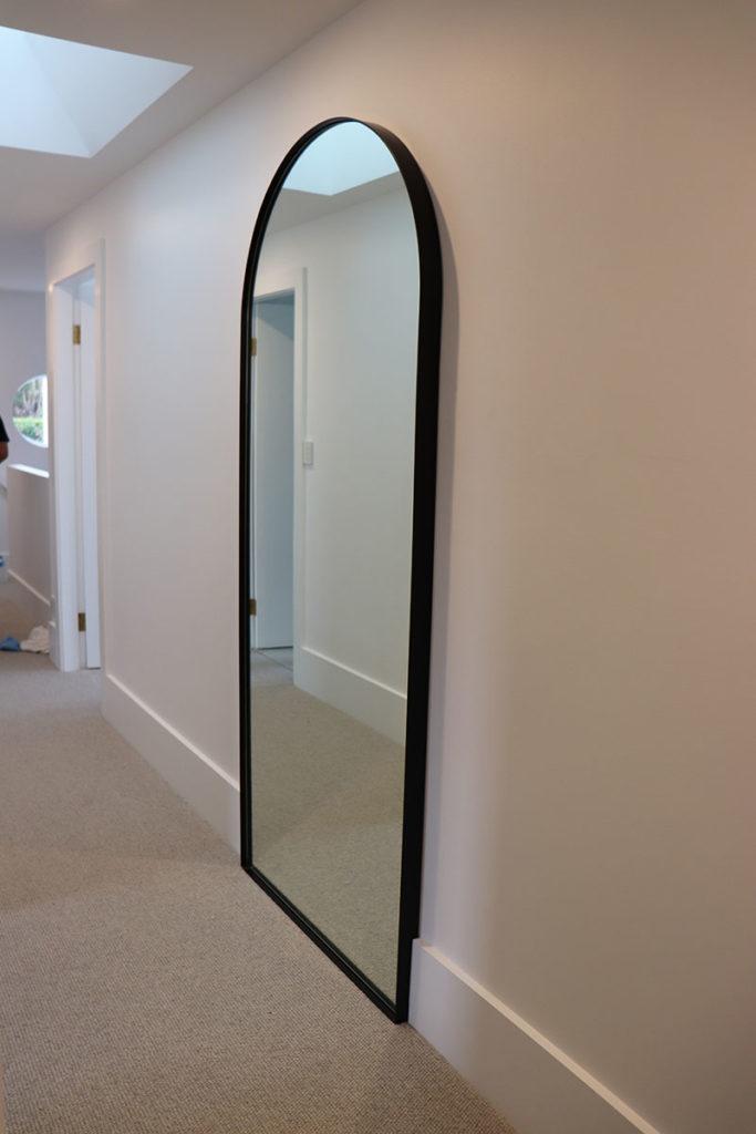 Custom Steel Framed Mirror