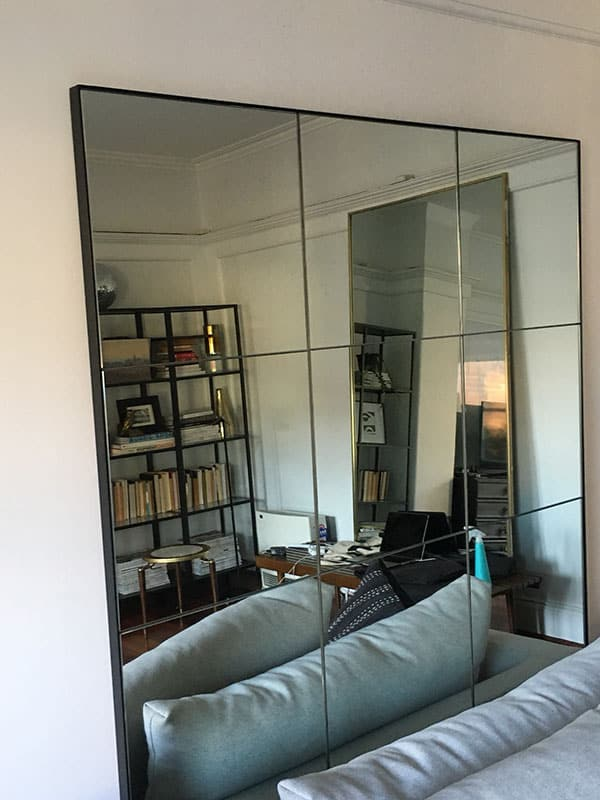 Free Standing Steel Framed Mirrors