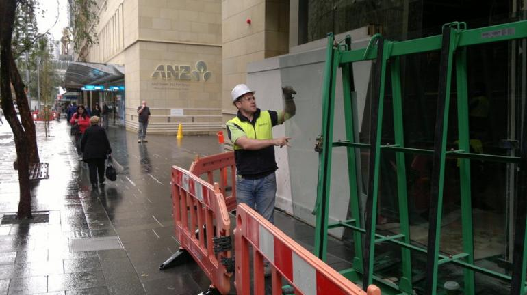 View Photo: Glass Replacement in Sydney CBD