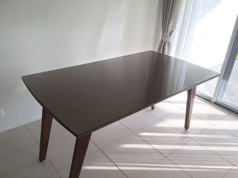 View Photo: Glass Table Top - Curved Edge