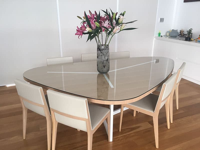 View Photo: Triangular Glass Table Top