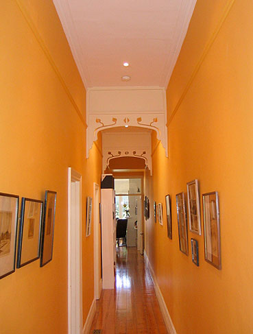 View Photo: Malvern Renovation - Orange Hallway