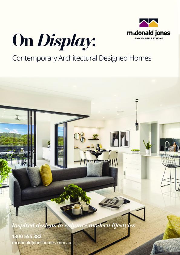 View Brochure: McDonald Jones Homes - On Display Brochure