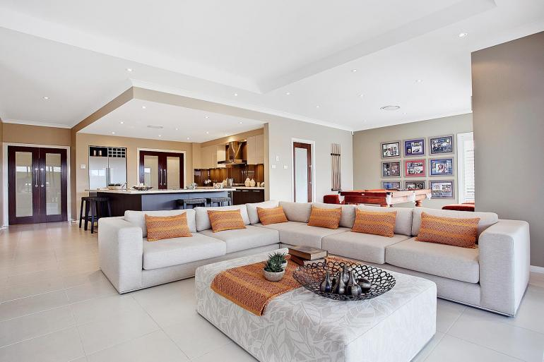 The Beach House - Family Room