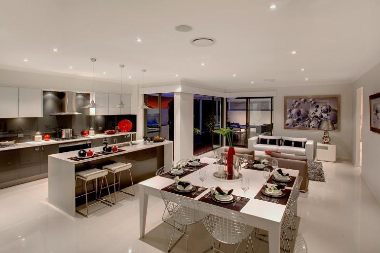 View Photo: The Entertainer - Dining, Family and Kitchen