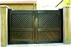 View Photo: Rustic Style Automatic Gates Melbourne