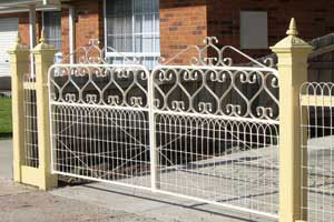 View Photo: Solid Steel Fencing and Gates