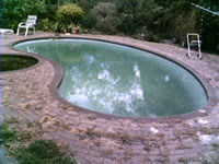 View Photo: Before Pool Removal