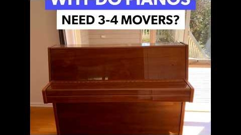 Watch Video: MetroMovers Professional Piano Movers In Action...