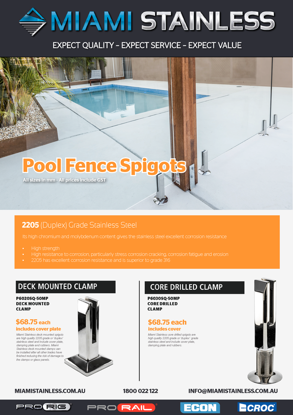 View Brochure: Glass Fencing & Balustrades