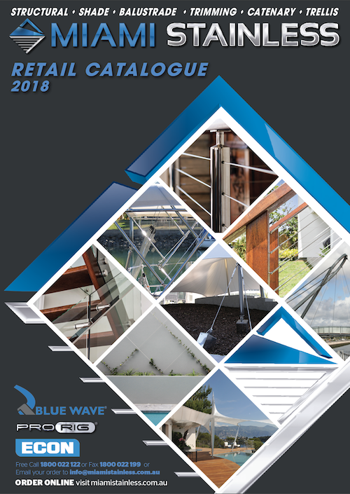 2018 Miami Stainless Product Catalogue Out Now