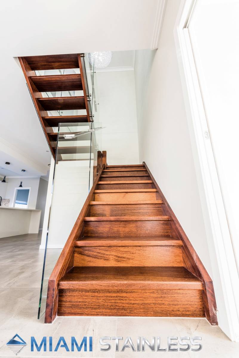 View Photo: Glass and Stainless Steel Staircase