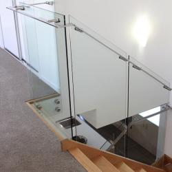 View Photo: Glass staircase