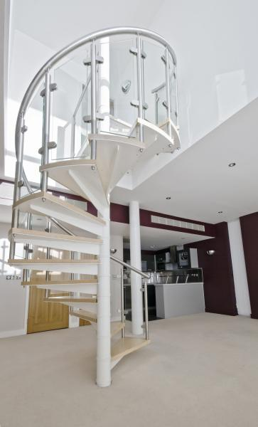 View Photo: Glass staircase balustrade