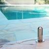 Round pool fence spigot
