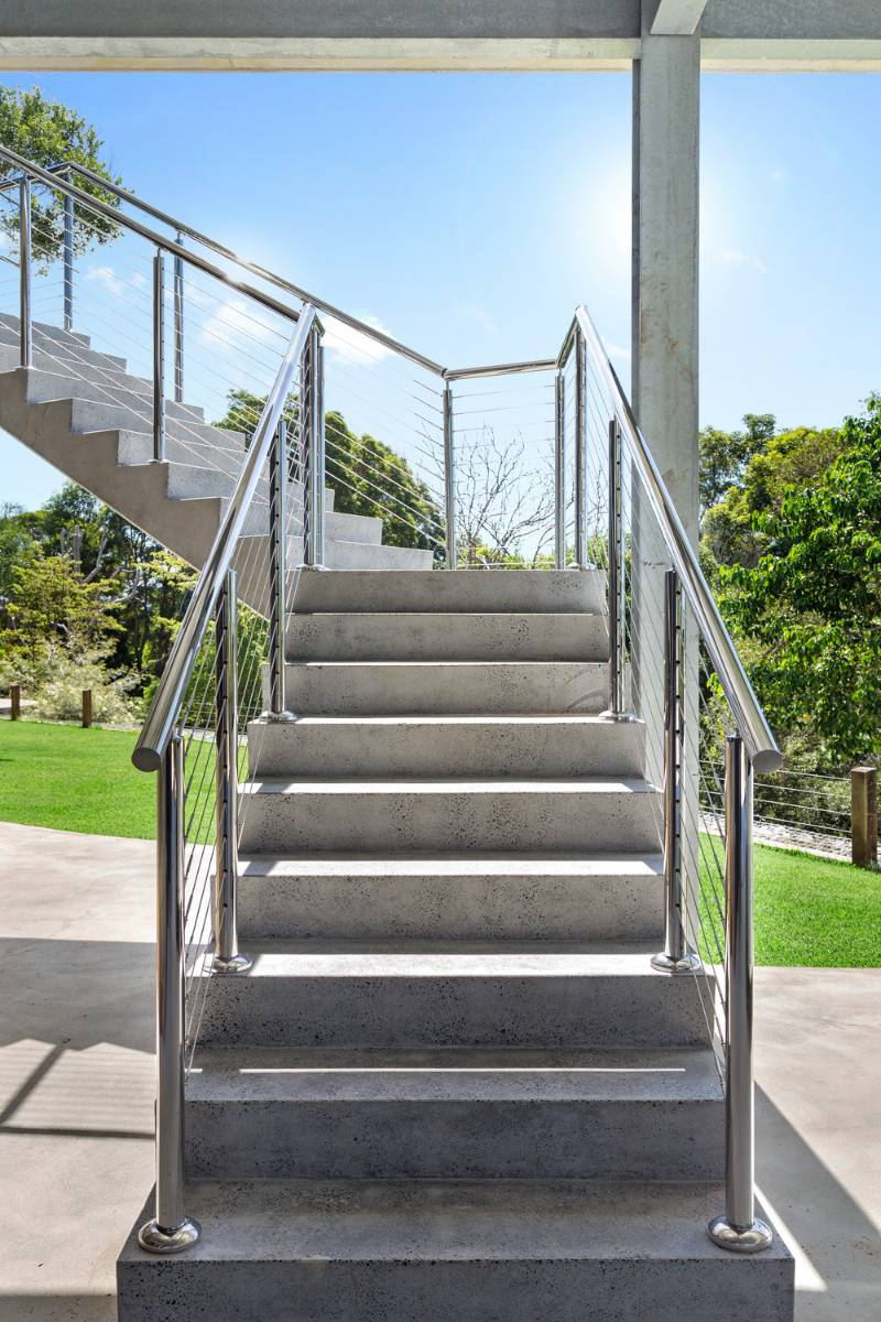 View Photo: Stainless Steel Wire Balustrade