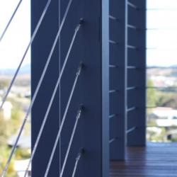 View Photo: Timber and wire staircase