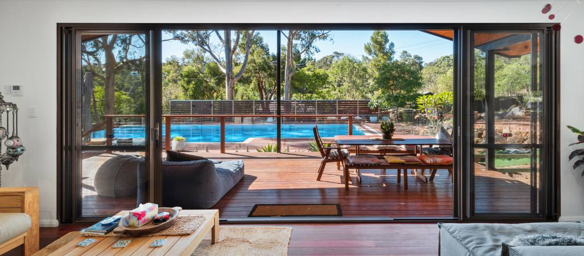 Unobstructed views with glass fencing
