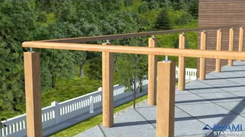 Watch Video : How To Install Wire Balustrade